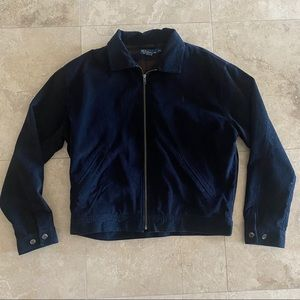 Polo navy blue corduroy jacket